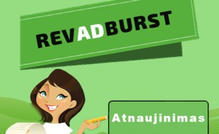 RevAdBurst atnaujinimas