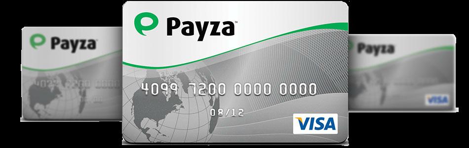 Payza Card, Payza kortele