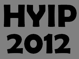 HYIP review 2012