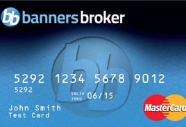 Banners Broker Prepaid Master Card
